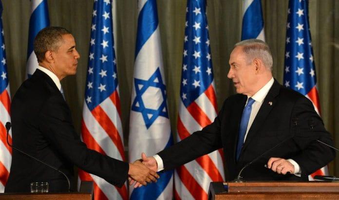 USAs president Barack Obama og Israels statsminister Benjmain Netanyahu. Bildet er fra et møte i Jerusalem i 2013. (Foto: PMO / Flickr.com)