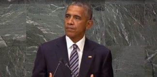 USAs president Barack Obama talte til FNs generalforsamling 20. september 2016. (Foto: Skjermdump fra YouTube)