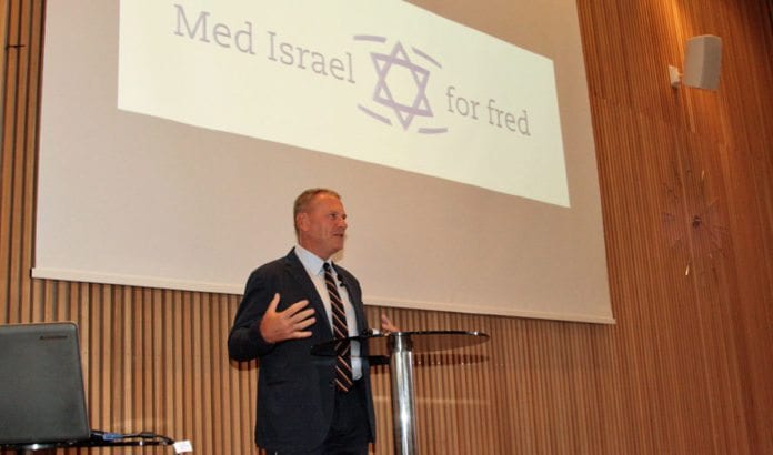 Richard Kemp var hovedtaler på MIFF Forum 2016. (Foto: Tor-Bjørn Nordgaard)