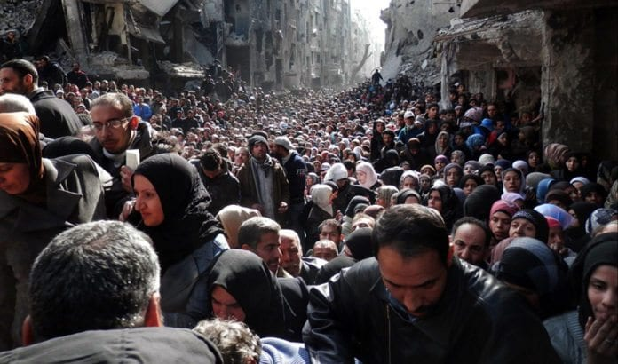 Yarmouk. (Illustrasjonsfoto: UNRWA, flickr)