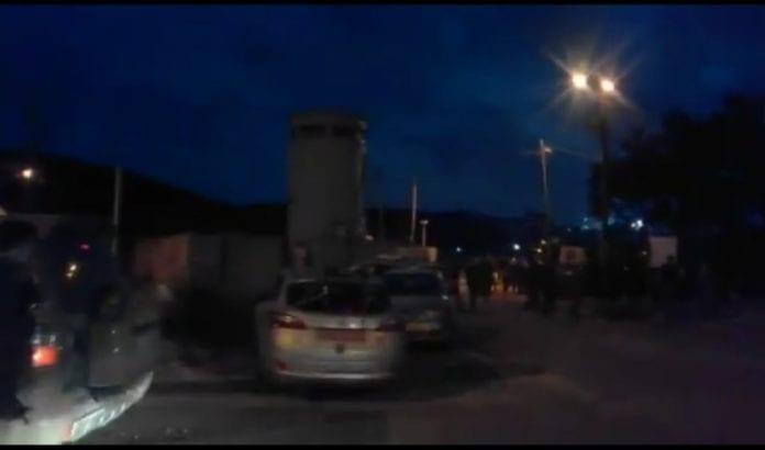 Kontrollposten Focus, hvor terrorangrepet fant sted. (Foto: Skjermdump Magen David Adom)