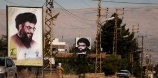 Plakater av Hizbollah-leder Hassan Nasrallah i Libanon. (Foto: Will De Freitas, flickr.com)