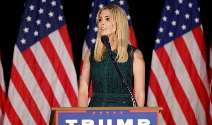 Ivanka Trump, Donald Trumps jødiske datter, forsikret jødiske velgere om at faren er en stor Israel-venn. (Illustrasjon: Michael Vadon, flickr.com)