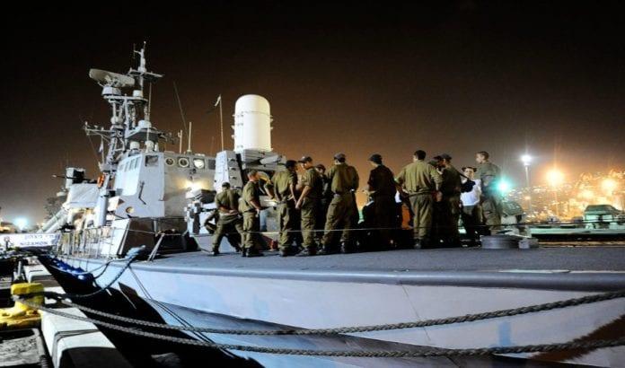 Israels marine forbereder seg på Gaza-flotilla i 2010. (Foto: IDF, flickr.com)