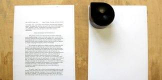 Her har skriveren gjort seg ferdig med første ark (Foto: ZUtA Labs)