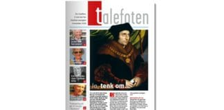 Talefoten er menighetsbladet til Grefsen menighet i Oslo. Dette er forsiden til novemberutgaven.