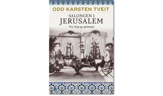 Omslaget av Salongen i Jerusalem. (Omslag: Kagge forlag)