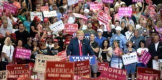Valgmøte med Donald Trump. (Foto: Gage Skidmore, flickr)