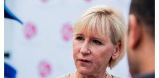 Svensk jøde tar et kraftig oppgjør med Sveriges utenriksminister Margot Wallström. (Foto: Socialdemokraterna, flickr)