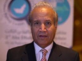 Den saudiske journalisten Abdulrahman Al-Rashed. (Foto: Skjermdump, Abu Dhabi Strategic Debate)