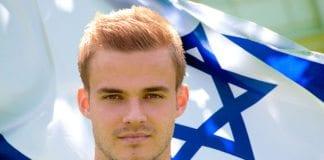 Fotballspilleren Hólmar Örn Eyjólfsson går fra Rosenborg til Israel. (Montasje: FIFA, MIFF arkiv)