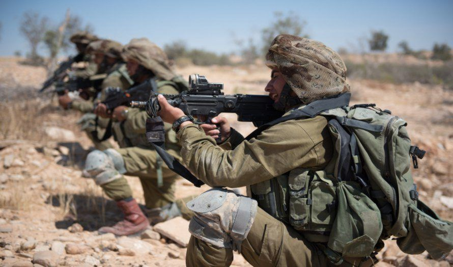 Israelske beduiner deltar i en militærøvelse. (Illustrasjon: IDF, flickr.com)