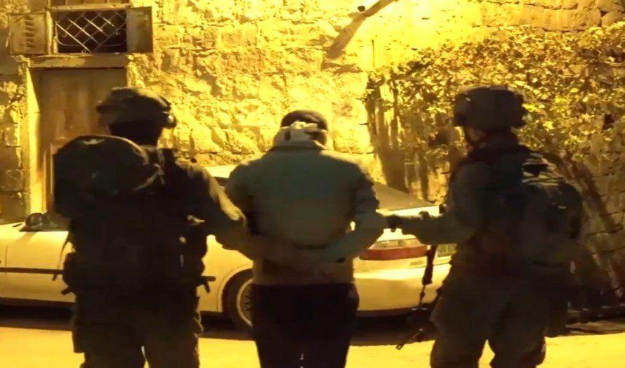 Shin Bet og det israelske forsvaret arresterte flere medlemmer av terrorcellen i Nablus. (Foto: skjermdump, Yedioth Aharonoth)