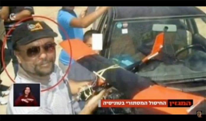 Den tunisiske forskeren med tilknytning til Hamas, Mohammed al-Zoari, ble drept utenfor sitt hjem i kystbyen Sfax i Tunisia, torsdag 15. desember. (Skjermdump fra Youtube)