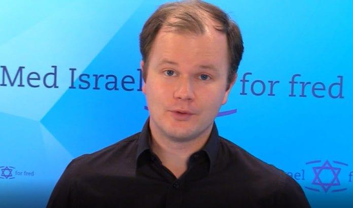 Conrad Myrland, daglig leder i Med Israel for fred.
