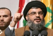 Hizbollahs leder Hassan Nasrallah. (Foto: Sayed Hashem/Flickr)