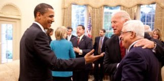 Obama-administrasjonen overførte 1,8 milliarder kroner til palestinerne, timer før de forlot Det hvite hus. (Foto: Det hvite hus)