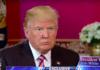 I et intervju med TV-kanalen Fox sier Trump at det er for tidlig å prate om flytting av USAs ambassade. (Foto: Skjermdump YouTube)