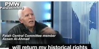 Azzam Al-Ahmad. (Skjermdump fra PA TV, via PMW)