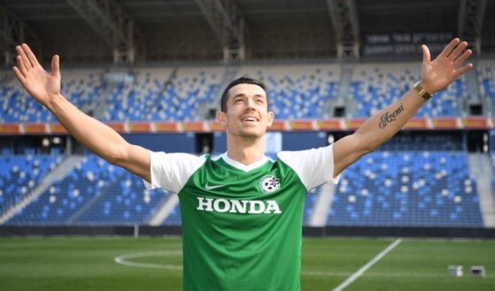 Fitim Azemi synes det er uvirkelig at han nå skal spille fotball i Israel for Maccabi Haifa. (Foto: Maccabi Haifa)