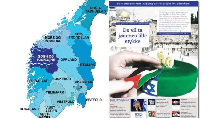 Med Israel for fred (MIFF) har distribuert et 24 siders spesialmagasin med Israels beste argumenter til 16 av 19 fylker. I januar 2018 går magasinet til 38.000 husstander i Troms.
