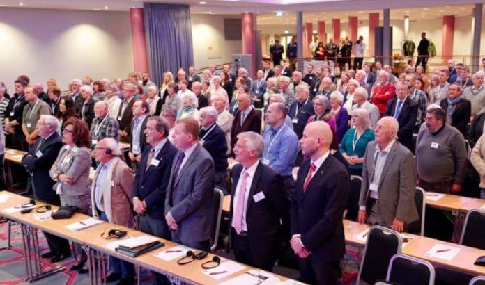 Fra Israelkonferansen i Sandvika i april 2016. (Foto: Tor-Bjørn Nordgaard, MIFF)