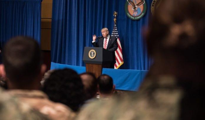 Donald Trump er ikke lenger en like stor støttespiller av israelske bosetninger. (Foto: D. Myles Cullen/Flickr)