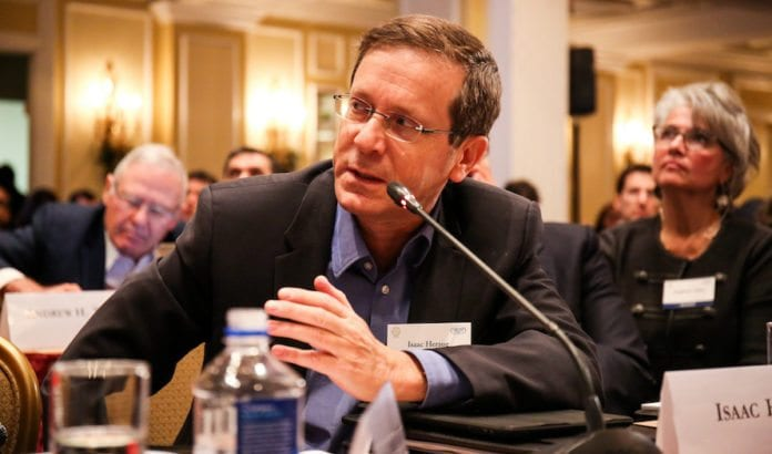 Opposisjonsleder Isaac Herzog har laget en 10-punkts plan han tror kan skape fred. (Foto: Ralph Alswang/Flickr)