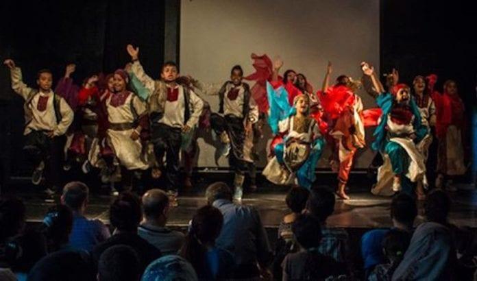 I dansekonkurransen på kultursenteret ble det danset til jihad-musikk. (Foto: Yafa Cultural Center)