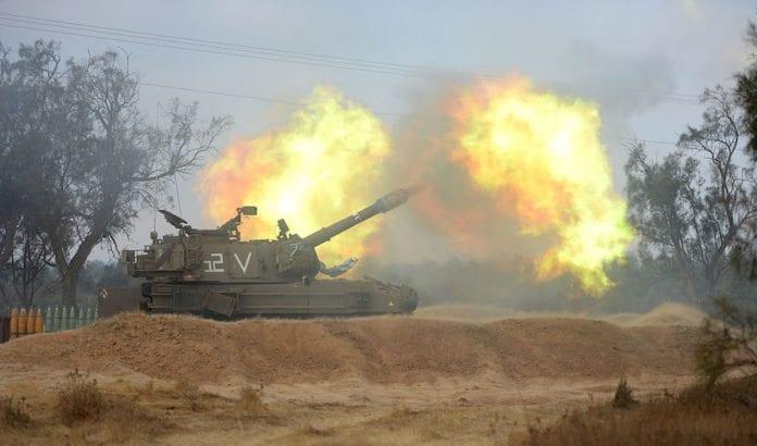 Det brygger opp til krig på den nordlige fronten mellom Israel og Iran. Dette bildet er fra Gaza-krigen i 2014. (Foto: IDF)