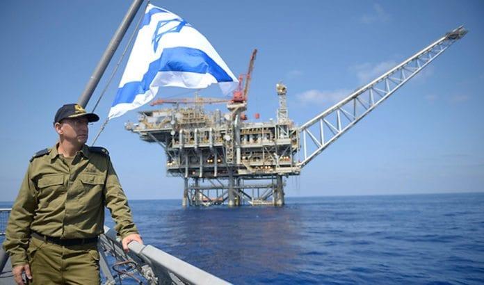Den israelske marinen beskytter israelske gassfelt. Nå har landet eksport sin første gass. (Foto: IDF)