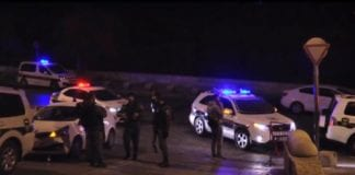 En terrorist gikk til et knivangrep mot to politimenn i Jerusalem. (Foto: Det israelske politiet)