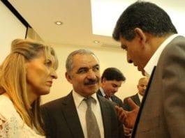 Mohammad Shtayyeh sier åpenlyst at Fatah ikke anerkjenner Israel. (Foto: European Parliamentary Group)