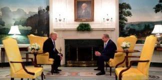 Trump og Netanyahu møttes i Det hvite hus i februar. Nå skal Trump komme til Israel. (Foto: Avi Ohayon/Flickr)