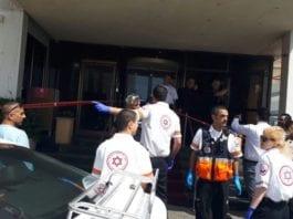 Fire personer ble lettere skadet i et terrorangrep i Tel Aviv søndag. (Foto: Magen David Adom)