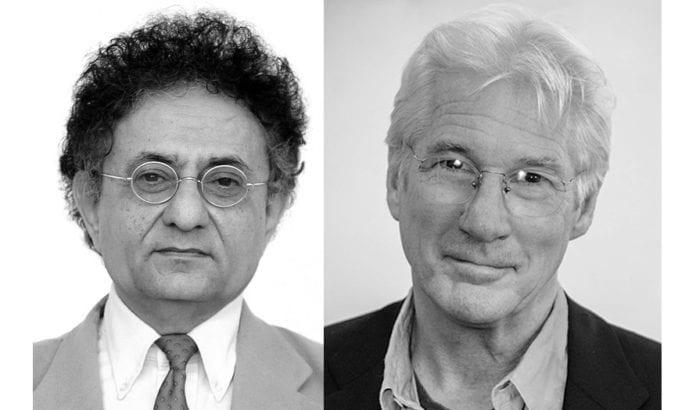 Ben-Dror Yemini (t.v.) og Richard Gere. (Foto: MIFF Arkiv, Neil Grabowsky/Montclair Film Festival)