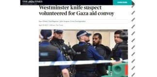 Skjermdump fra britiske The Times.