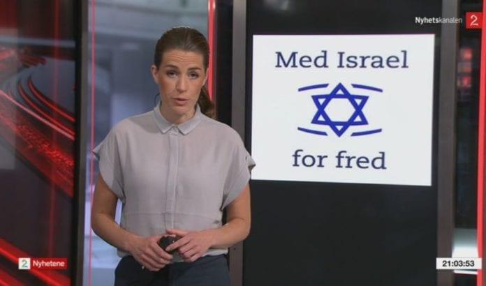 Programleder Siri Kleiven Strøm i TV2 (skjermdump fra TV2).