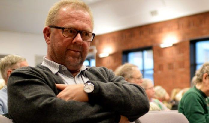 Jan Olav Andersen, forbundsleder i EL og IT Forbundet, og Fagforbundet har ikke gitt opp å få LO-kongressen med på å støtte full boikott av Israel. (Foto: Nei til EU, flickr)