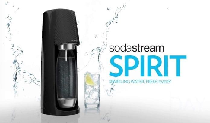 Maskinen Spirit fra SodaStream ble kåret til best i test av TV2 hjelper deg. (Foto: SodaStream)