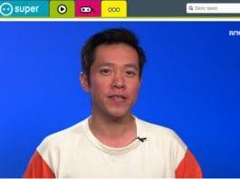 Programleder Dang Trinh i NRK Supernytt. (Skjermdump fra Nrk.no)
