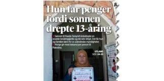 Faksmile fra forsiden av Stavanger Aftenblad 16. juni 2017.