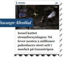 Skjermdump fra forsiden av aftenbladet.no 19. juni 2017.