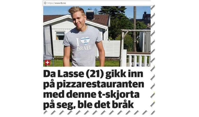 Skjermdump fra Tønsberg Blad 22. juni 2017.