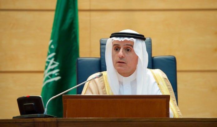 Den saudiarabiske utenriksministeren Adel al-Jubeir krever at Qatar slutter å finansiere Hamas. (Foto: US State Departement)