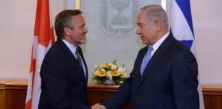 Anders Samuelsen og Benjamin Netanyahu møttes i Jerusalem 17. mai i år. (Foto: Haim Zach/Flickr)