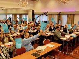 MIFFs generalforsamling vedtok to endringer i organisasjonens formål og grunnlag. (Foto: Bjarte Bjellås)