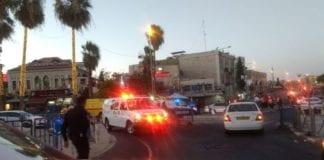 Angrepet skal ha skjedd ved Damaskus-porten i Jerusalem. (Foto: Magen David Adom)