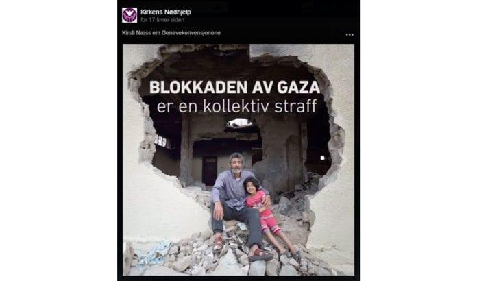 Blokaden av Gaza er ikke en kollektiv straff, slik Kirkens Nødhjelp hevder, men et sikkerhetstiltak for å hindre at islamistiske terrorgrupper får våpen og ammunisjon.