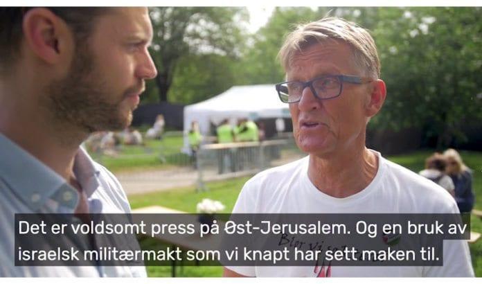 Skjermdump fra samtalen mellom Bjørnar Moxnes og Mads Gilbert som partiet Rødt publiserte på Facebook 19. juni 2017.